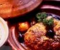 Tajine au poulet, pommes de terre et aux olives Tajine10