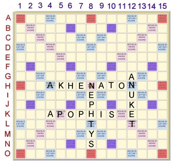 Scrabble 15: L'Egypte Ancienne Scrabb35