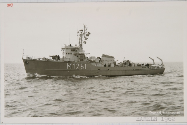 German Navy - Minesweeper Mercure-Class ... Photo_42