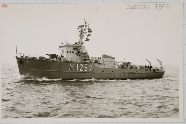 German Navy - Minesweeper Mercure-Class ... Photo_43