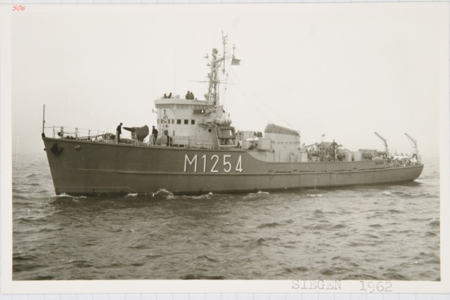 German Navy - Minesweeper Mercure-Class ... Photo_45