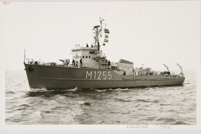 German Navy - Minesweeper Mercure-Class ... Photo_46