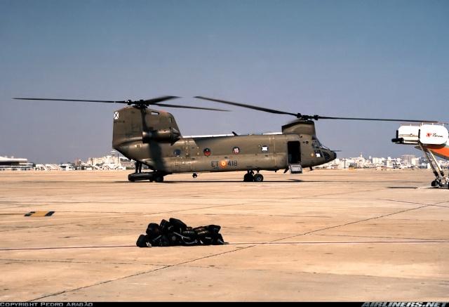 Armée de Terre Espagnole (News, Photos, Vidéos) Chinoo14