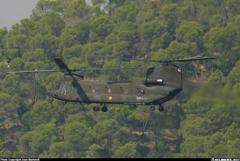 Armée de Terre Espagnole (News, Photos, Vidéos) Chinoo16