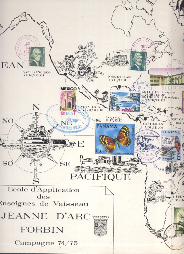 Ultime croisière de la vieille Jeanne d'Arc 1963-1964 Jeanne12