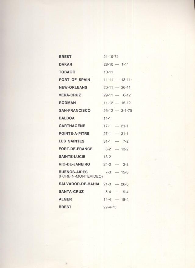 Ultime croisière de la vieille Jeanne d'Arc 1963-1964 Jeanne14