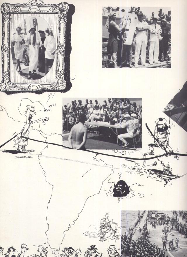Ultime croisière de la vieille Jeanne d'Arc 1963-1964 Jeanne35