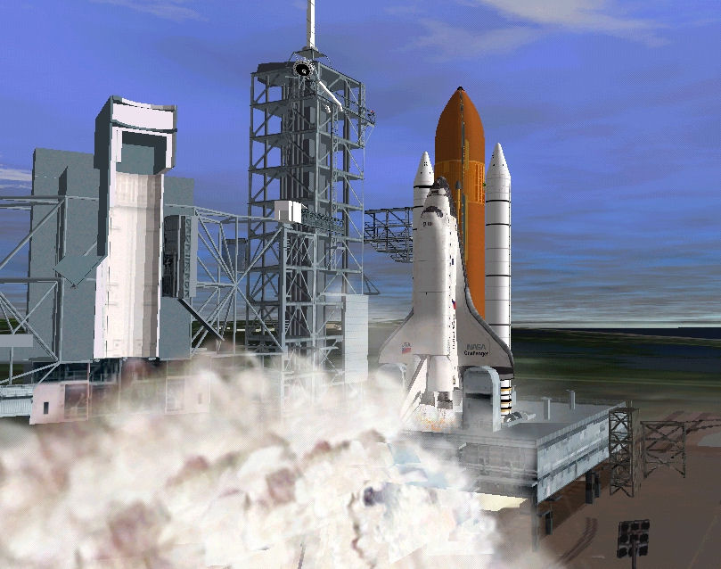 Orbiter 2006: rentrée du STS Shuttl11