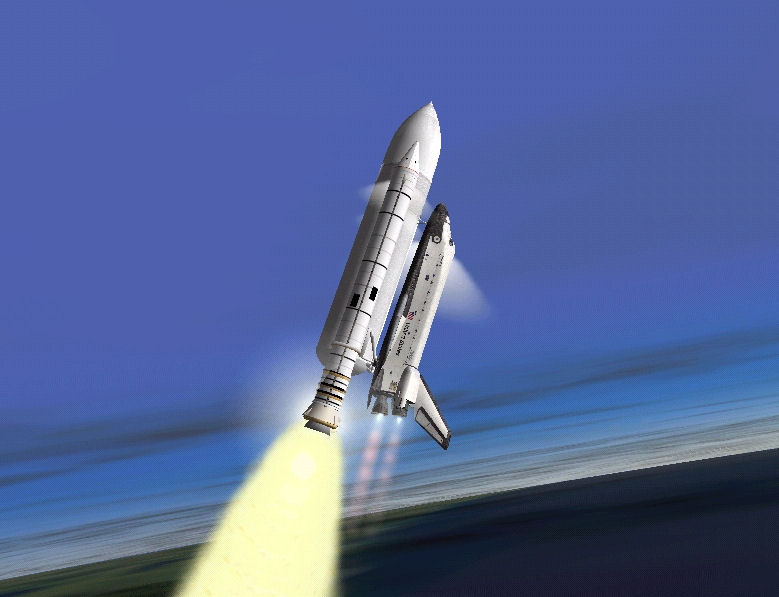 Orbiter 2006: rentrée du STS Shuttl12