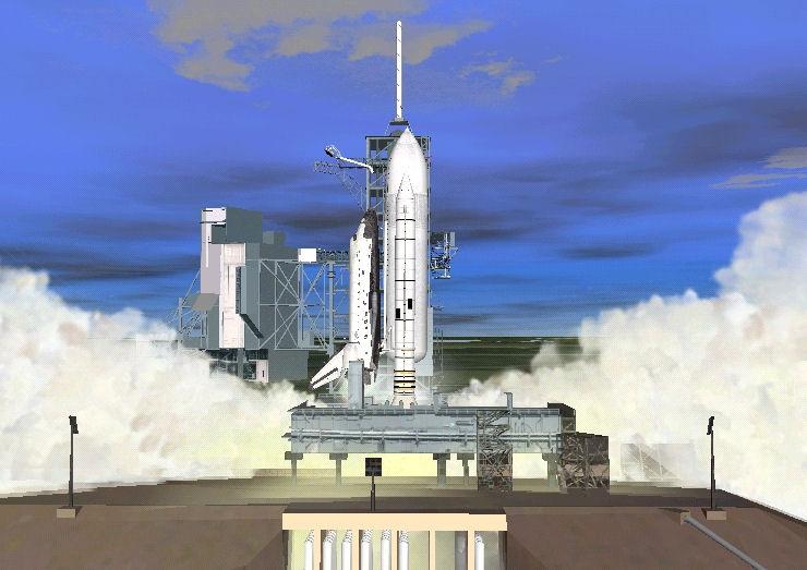 Orbiter 2006: rentrée du STS Shuttl13