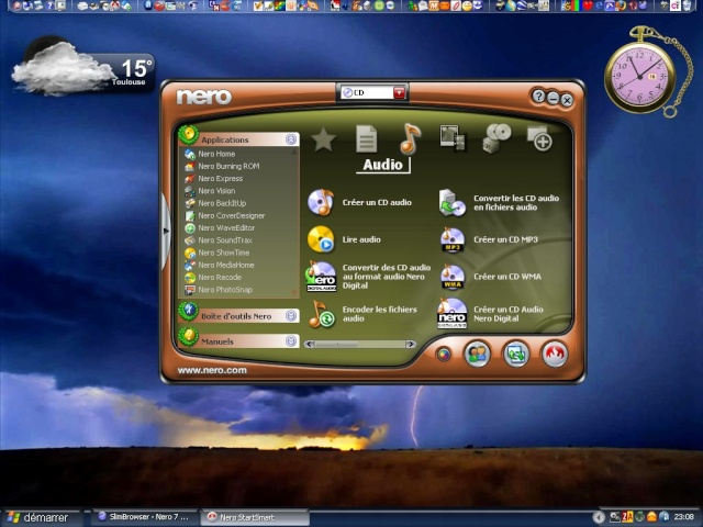 Nero 7 mis à jour :o) Clipbo29