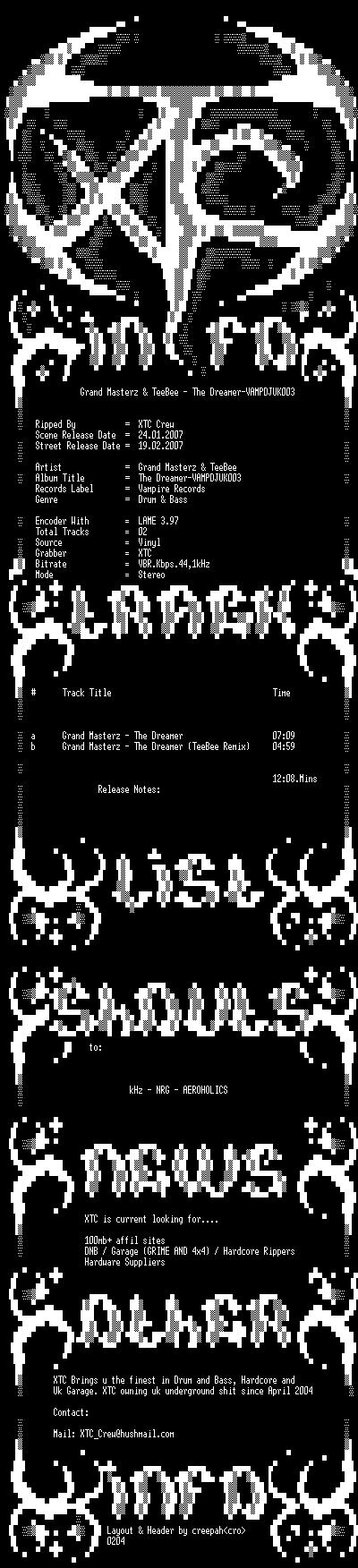 [DnB] Grand Masterz - VAMPDJUK003 - Vampire Records Vampdj10