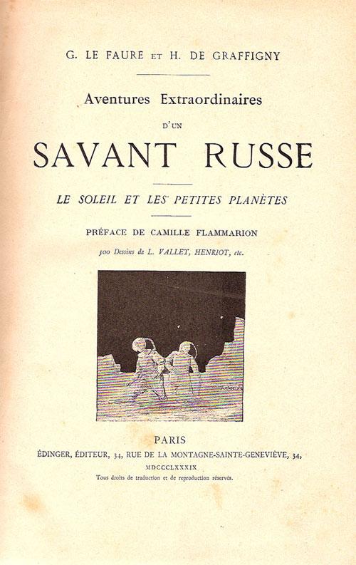 """Livres : """"Aventures extraordinaires d'un savan"""" Untitl11"""