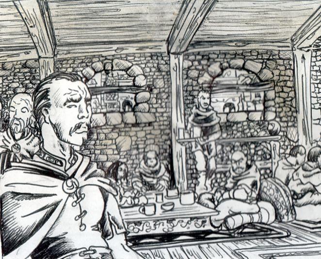 L'auberge du Pied Heureux. Description et ambiance. Auberg12