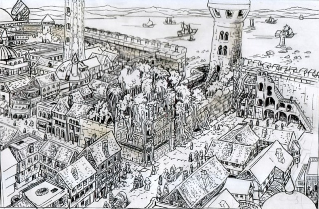 L'auberge du Pied Heureux. Description et ambiance. Auberg14