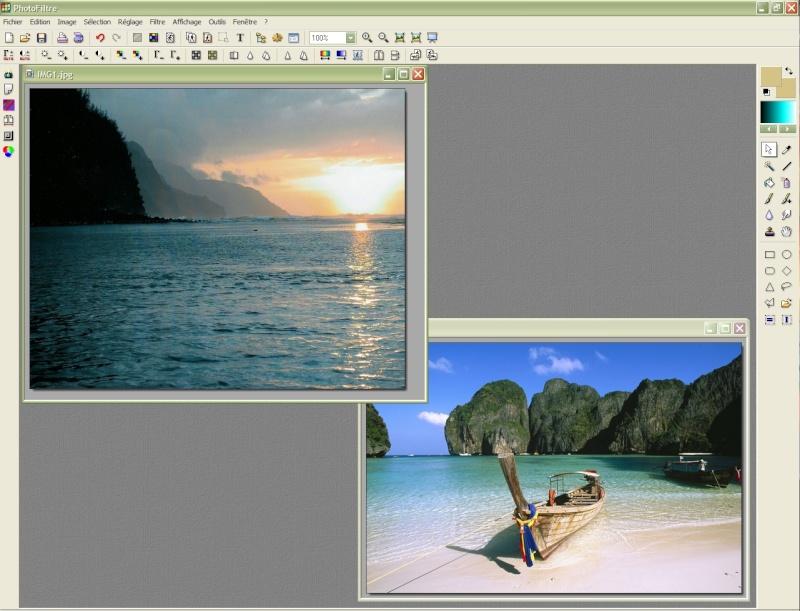 Comment insérer une image sur une autre avec Photofiltre Photof17