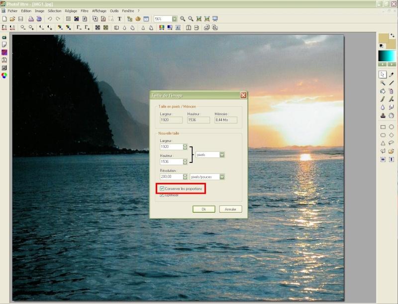 Comment insérer une image sur une autre avec Photofiltre Photof25