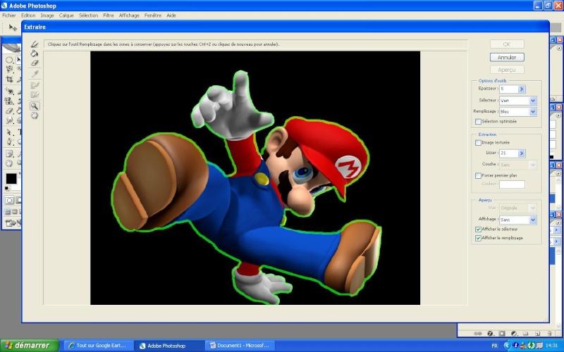 Extraire une image avec photoshop Red110