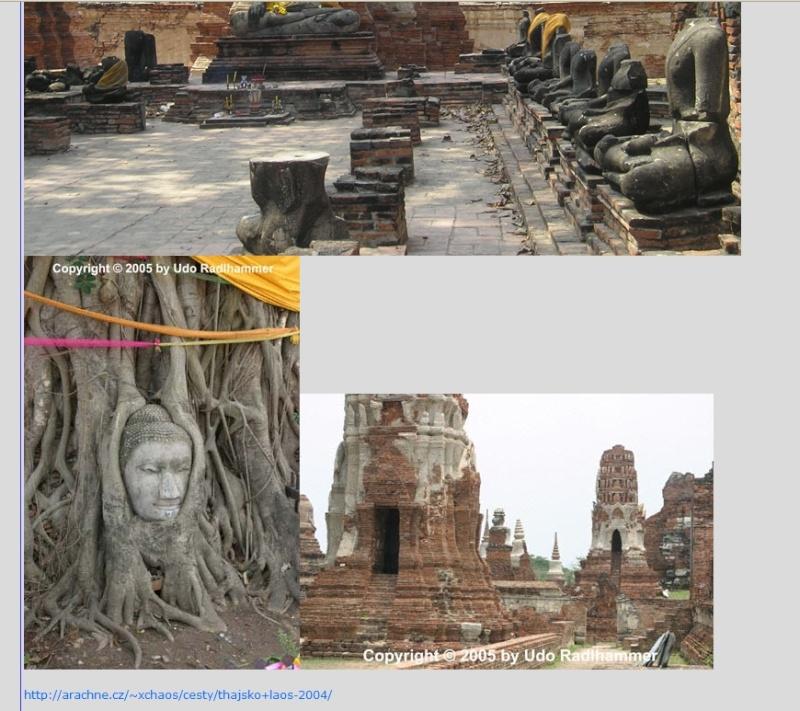 Les temple d'Ayutthaya, Thaîlande Trop_l11