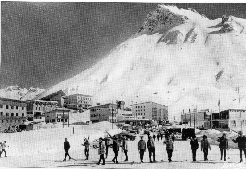 {Tignes} photos  d'archive de la station Sans_t16