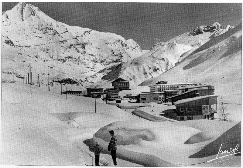 {Tignes} photos  d'archive de la station Sans_t17