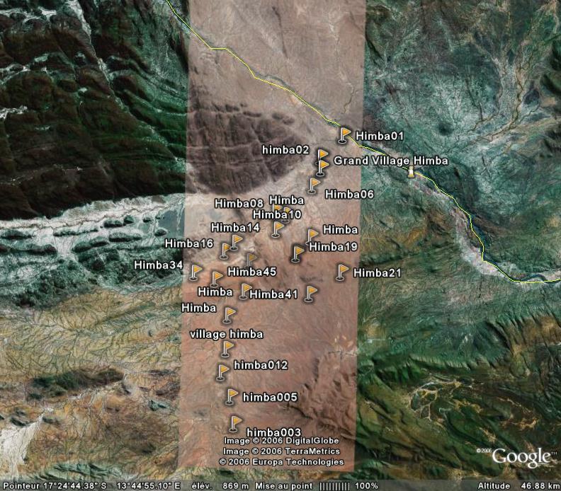 Les himbas de Namibie : le village de Katjambia Tjambiru Himbal10