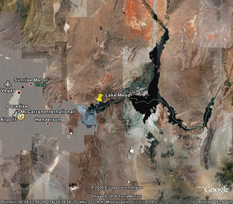 lac mead - Lake Mead, un réservoir d'eau pour Las Végas, Nevada - USA Lakeme10