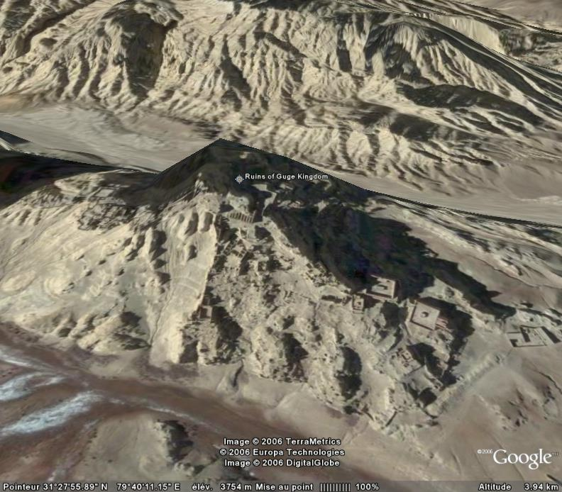 GUGÉ, royaume perdu de l'Himalaya Ruines10