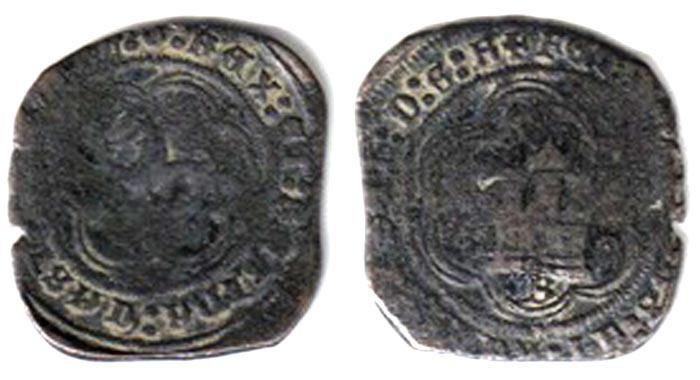 4 maravedis de los Reyes Católicos (Burgos, 1474-1504) 4marav10