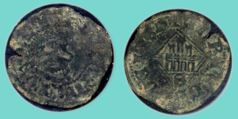Blanca del rombo de Enrique IV (Sevilla, 1471) Blanca12
