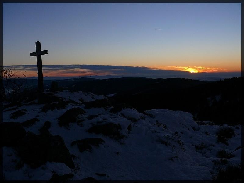 Photos de soirée sur le massif du Pilat P1050213
