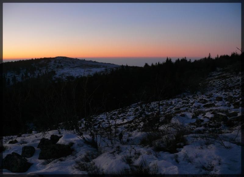 Photos de soirée sur le massif du Pilat P1050321