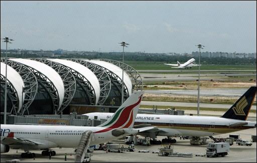Incidents sur le nouvel aéroport de BKK 07020612
