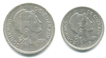 1 y 2 pts. Gobierno de Euskadi (1937 d.c) Euskad10