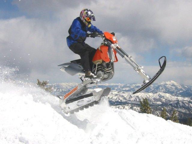 motocross d'hiver