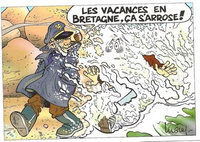La météo bretonne Pluie110