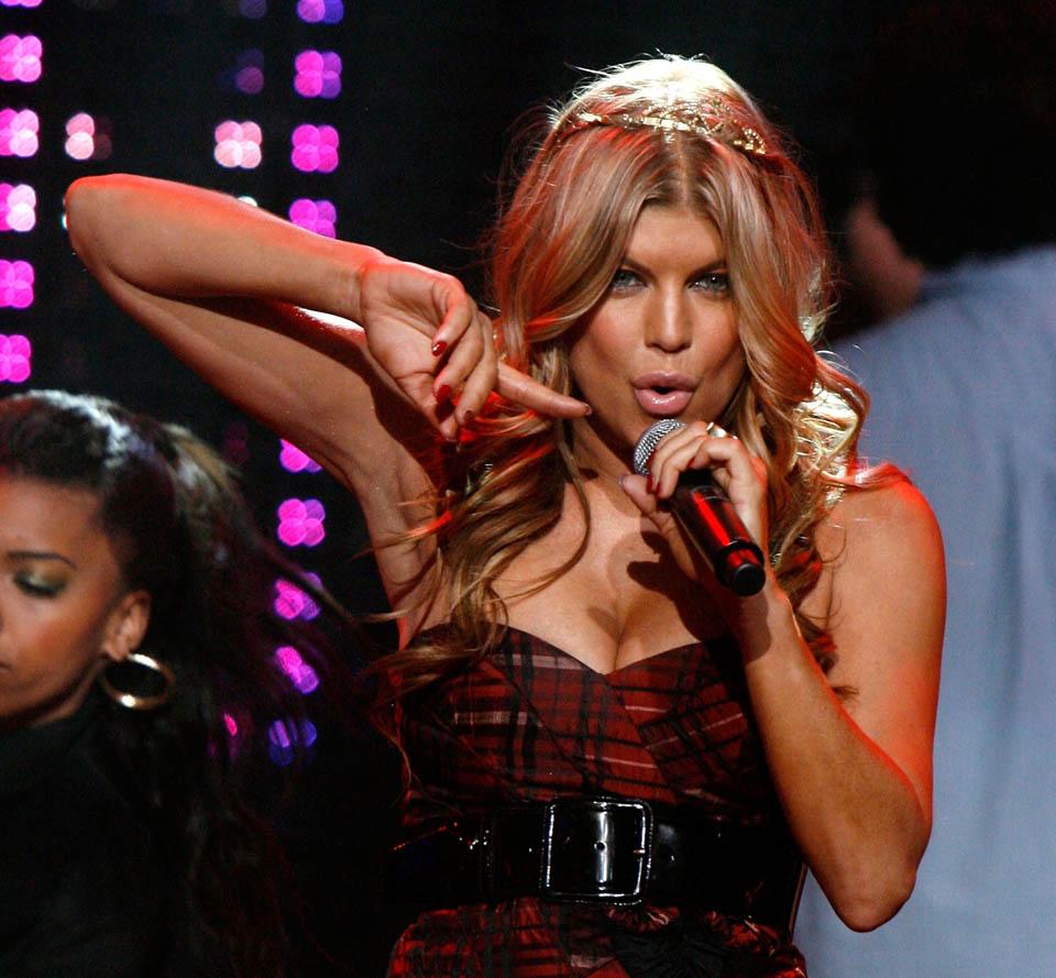 Fergie's Dick Clarks New Year's Rockin' Eve Performance Fergie31