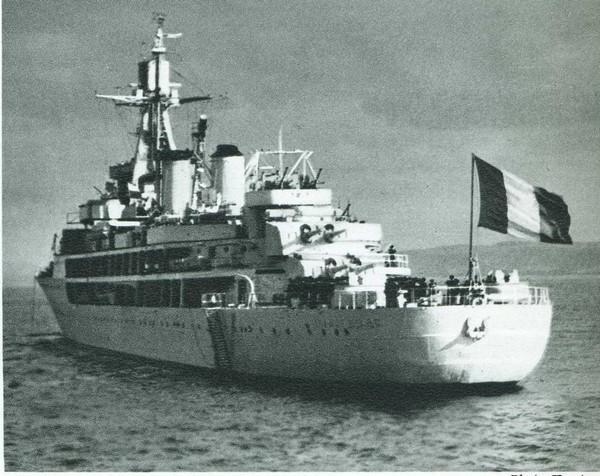 Ultime croisière de la vieille Jeanne d'Arc 1963-1964 Jeanne10