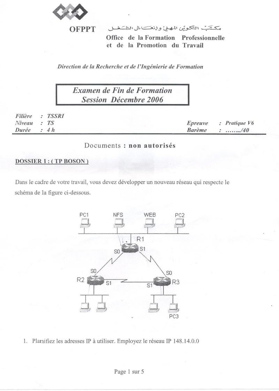 Examen Pratique 2006 Rotage et Sql Server Pratiq10