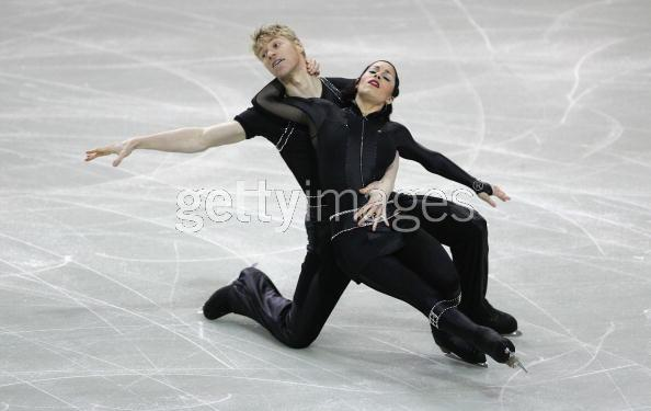PATINAGE/CHAMPIONS D EUROPE COUPLE