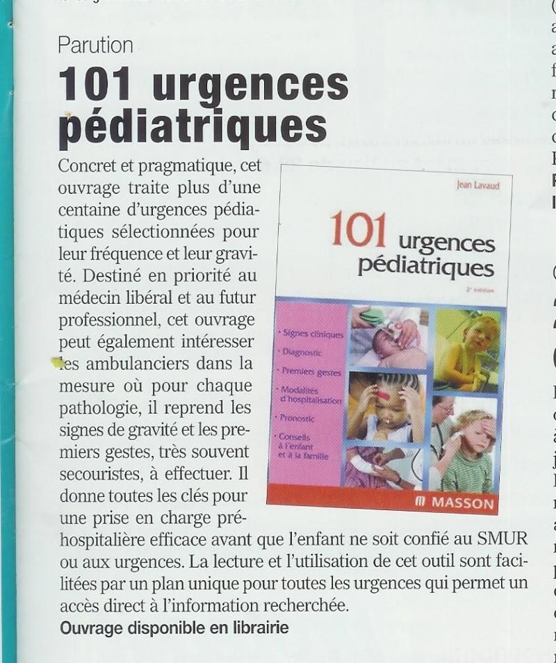101 Urgences Pédiatriques 101urg10