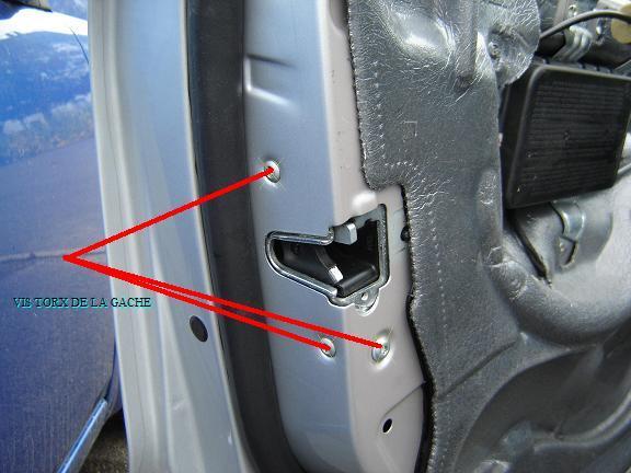 Mercedes classe c w203 d montage g che porte for Remplacer une serrure de porte
