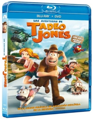 Las aventuras de Tadeo Jones [BDRip 1080p][Dual DTSHD.AC3][Subs][Animación][2012]