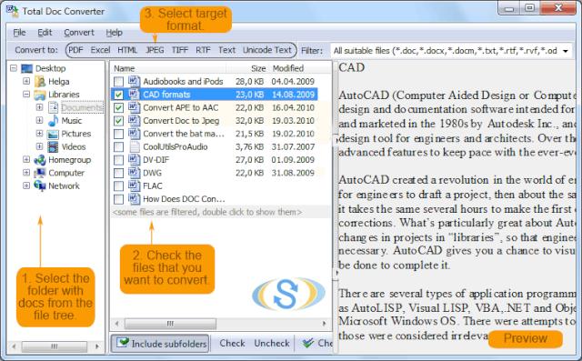 CoolUtils Total Doc Converter 2.2.226 [Multi] - Conversor de archivos de texto