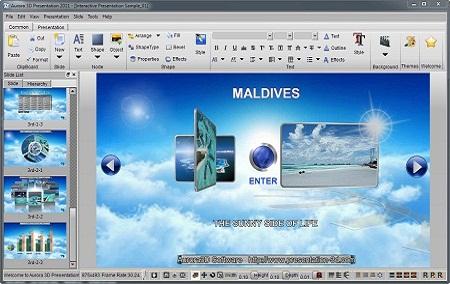 Aurora 3D Presentation 13.01.11 [Multi] - Presentaciones en 3D