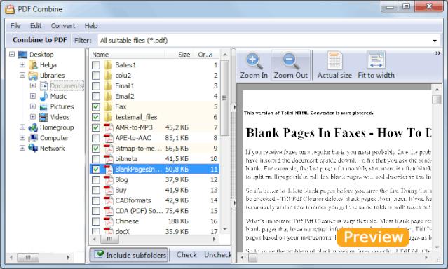 CoolUtils PDF Combine 3.1.18 [Multi] - Une varios PDFs en un solo