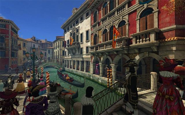 Venice Carnival 3D Screensaver 1.0.0.2 [Salvapantallas - Carnaval de Venecia]