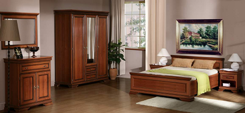 Relooking chambre avec mobilier louis philippe - Relooking chambre adulte ...
