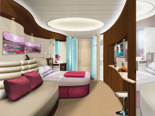Salle de bain de luxe cabine au coin ~ Outil intéressant votre maison
