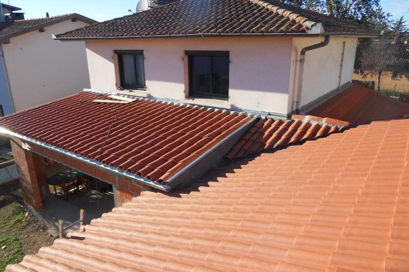 Cr ation d 39 un extension pour inclure la terrasse dans la for Quelle pente pour un toit